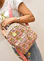 Казковий рюкзак Baili з принтом ведмедики, фото 2