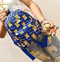 Сказочный рюкзак Baili с принтом мишки, фото 3