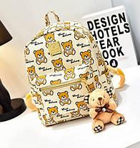 Казковий рюкзак Baili з принтом ведмедики, фото 3