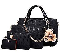Сказочный набор сумок с брелком, 4в1