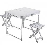 Кемпинговый набор из складного стола и двух стульев Norfin Boren (NF-20309)
