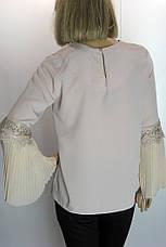 Блузка рукав волан Misra, фото 3