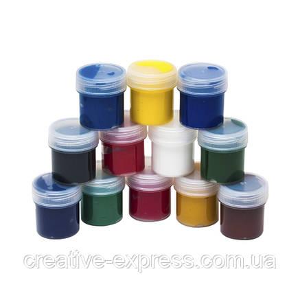 Набір гуашевих фарб, ROSA START, 12*20мл, фото 2