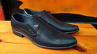 Летние мужские классические туфли Cevivo из натуральной кожи