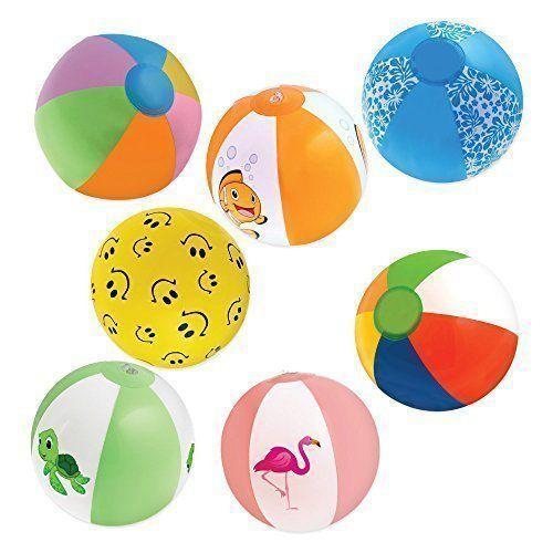 Детские надувные мячи и игрушки