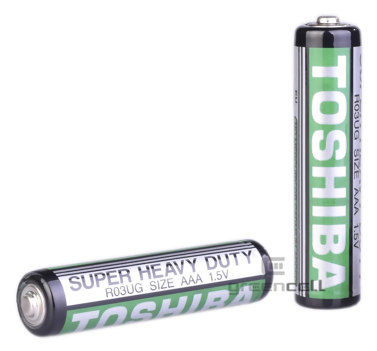 Батарейка TOSHIBA R03 1.5 V Super Heavy Duty