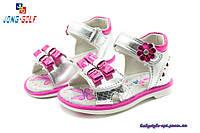 Детские босоножки Бренд - Jong Golf, обувь для девочек  размеры 21 - 26