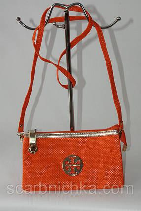 Клатч №15219 оранжевый  Артикул: 137157  , фото 2
