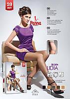 Женские колготки с прочными шортиками Lidia 20 den TM Panna