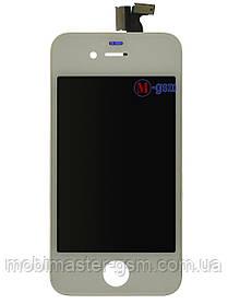 LCD модуль Apple iPhone 4 h/c белый