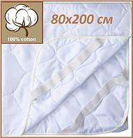 Наматрасник 80х200 U-TEK Comfort Summer на резинках по углам