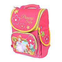 Школьный рюкзак с ортопедической спинкой для девочки - София - 87-1434