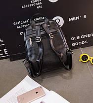 Міський рюкзак з бантиком і візерунком, фото 3