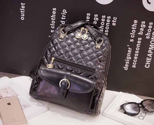 Большой стеганый городской рюкзак в стиле Candy Bear