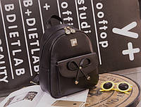 Городской нежный рюкзак с милым бантиком