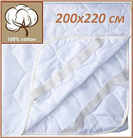 Наматрасник 200х220 U-TEK Comfort Summer на резинках по углам