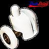 Ролик для  душевой кабины ( А039А ) Нажимной, нижний, Белый 26 мм.