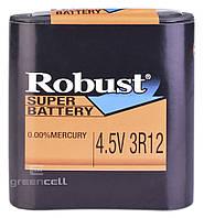 Батарейка Robust 4.5V 3R12 квадрат