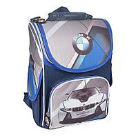 Школьный рюкзак с ортопедической спинкой для мальчика - BMW - 87-1437