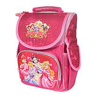 Школьный рюкзак с ортопедической спинкой для девочки - Принцессы - 87-1438