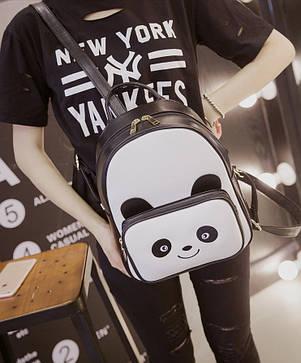 Стильный городской рюкзак Панда, фото 2