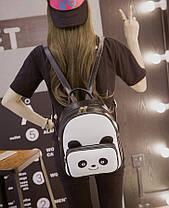 Стильный городской рюкзак Панда, фото 3