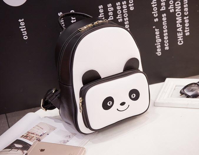 Стильный городской рюкзак Панда