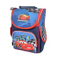 Школьный рюкзак с ортопедической спинкой для мальчика - CARS - 87-1439