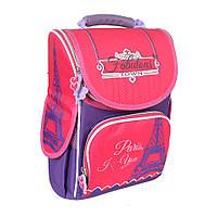Школьный рюкзак с ортопедической спинкой для девочки - Париж (Paris) - 87-1440