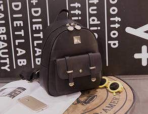 Модный женский городской рюкзак, фото 2