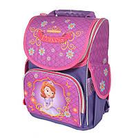 Школьный рюкзак с ортопедической спинкой для девочки - Принцесса София - 87-1461