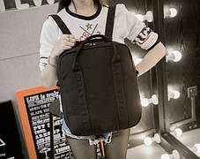 Большой тканевый рюкзак-сумка для ноубука \ учебы, фото 3