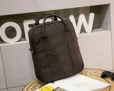 Большой тканевый рюкзак-сумка для ноубука \ учебы, фото 2