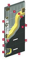 Входная бронированная дверь для дома Gerda CX 20