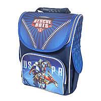 Школьный рюкзак с ортопедической спинкой для мальчика - Rescue Bots- 87-1462