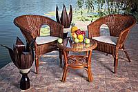 Комплект плетеной мебели для террасы