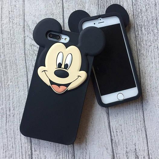 Силиконовый чехол Микки Маус для iPhone 8/8 Plus