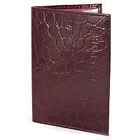 Обложка на паспорт из тисненой кожи 230