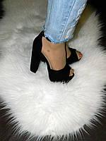 Стильные фирменные босоножки черного цвета на высоком каблуке ТМ Sergio Todzi