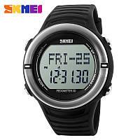 Электронные часы с пульсометром Skmei 1111