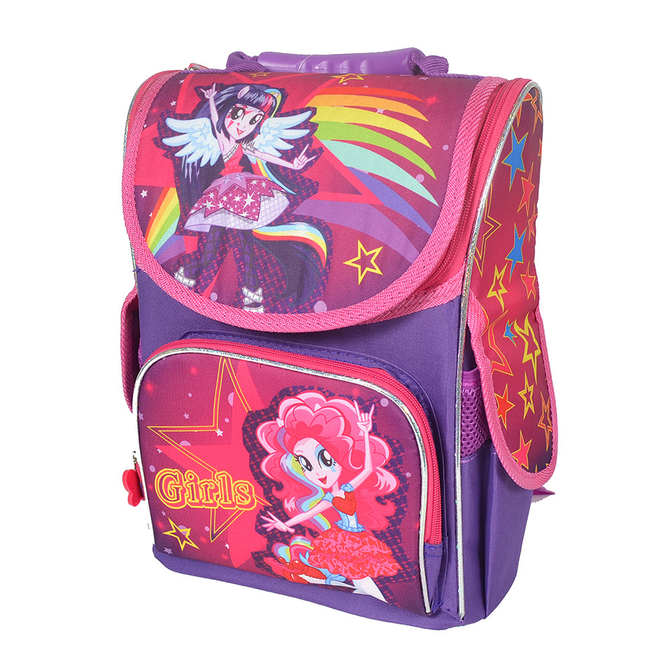 919c9fa4a07f Школьный рюкзак с ортопедической спинкой для девочки - Monster High - Girls  - 87-1468