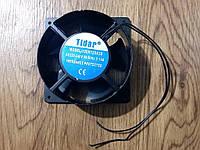 Вентилятор осевой универсальный Tidar 120мм*120мм*38мм / 220-240V / 0,14А / 17W (КРУГЛО-КВАДРАТНЫЙ), фото 1