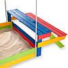 Детская деревянная песочница, фото 2