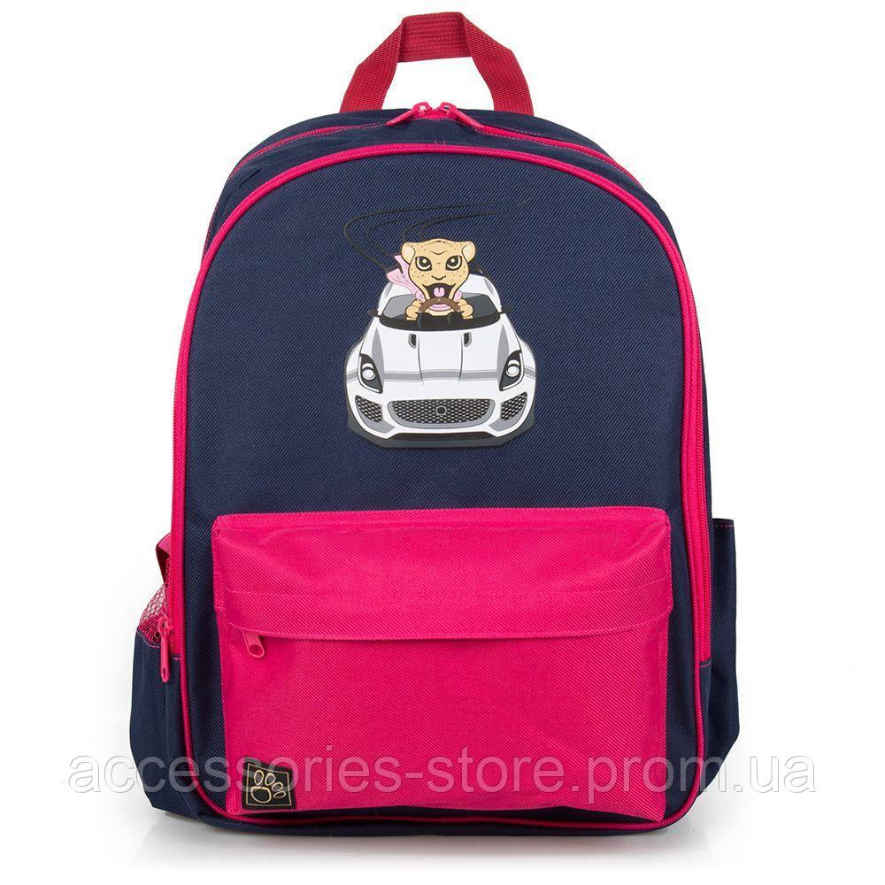 Детский рюкзак Jaguar Kids Backpack, Navy/Pink