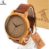 Бамбуковые часы Bobo Bird