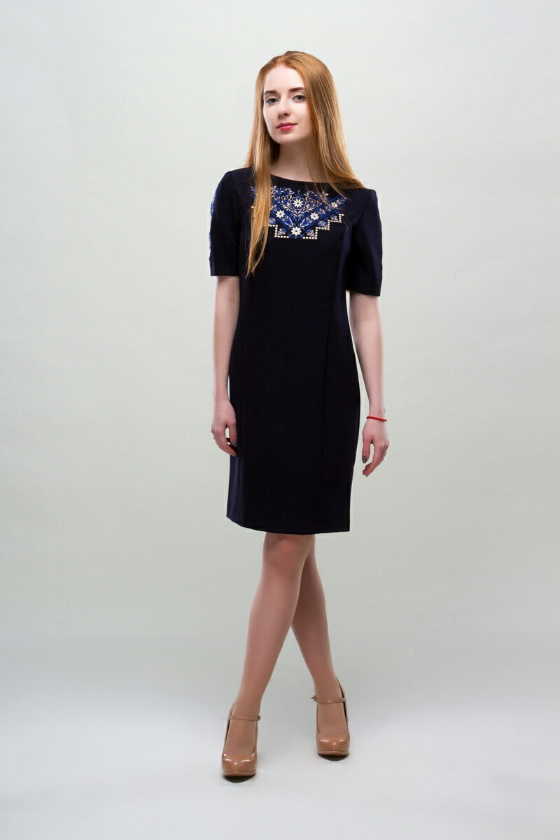 Платье с вышивкой купить Мира