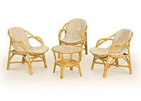 Комплект плетеной мебели из натурального ротанга