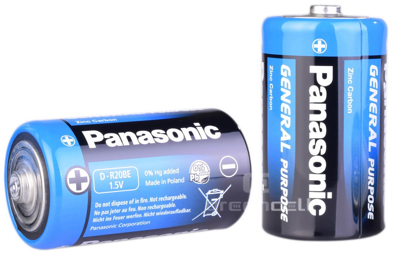 Батарейка PANASONIC R20