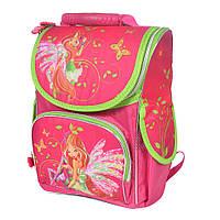 Школьный рюкзак с ортопедической спинкой для девочки - Феи Винкс- 87-1476