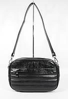 Клатч, сумочка через плечо Valensiy 20716 черная